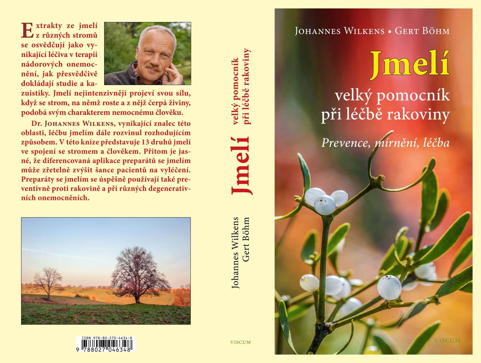 Český překlad knihy Jmelí, velký pomocník při léčbě rakoviny